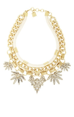 BCBGMAXAZRIA  - Cord And Stone Statement Necklace