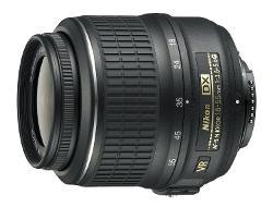Nikon  - 18-55mm f/3.5-5.6G AF-S DX VR Nikkor Zoom Lens