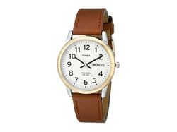 Timex - Easy Reader Brown Leather Watch