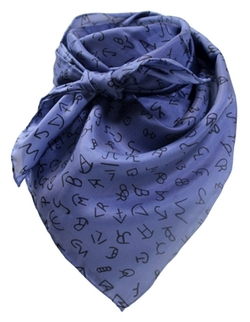 Wyoming Traders - Navy Wild Rag Scarf