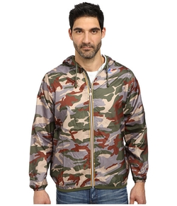 K-Way - Claude Klassic Waterproof Print Jacket
