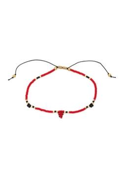 Cinq - Seed Bead Bracelet