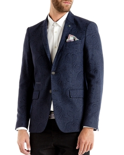 Ted Baker - Hiko Paisley Regular Fit Blazer