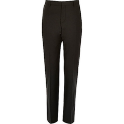 River Island - Wool-Blend Suit Pants