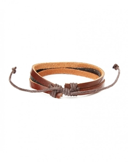 The Idle Man - Leather Bracelet