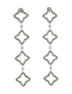 David Yurman  - Quatrefoil Dangle Earrings