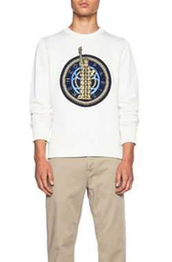 Kenzo - Statue of Liberty Cotton-Blend Sweatshirt
