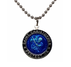 Baja Billys Ocean Creations - St. Christopher Surf Necklace