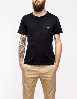 Kitsune Parisien - Man T-shirt In Black