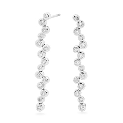Bond Street - Diamond Drop Earrings
