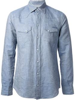 Dolce & Gabbana  - Western Chambray Shirt