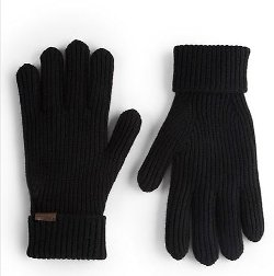 Burberry  - Cashmere/Wool Rib-Knit Gloves