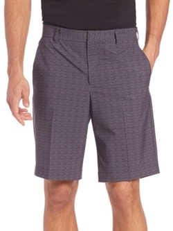 J. Lindeberg Golf  - Micro Stretch Textured Shorts