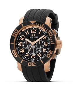 TW Steel  - Grandeur Diver Rose Gold PVD Watch