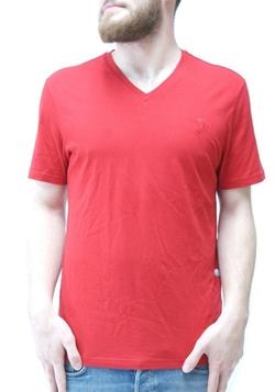 Versace -  Small Medusa Logo V-Neck Tee Shirt