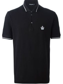 Dolce & Gabbana   - Piped Polo Shirt