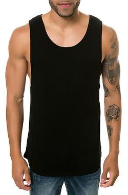 UNCL  - The Loose Tank in Black