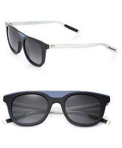Dior Homme - Black Tie Wayfarer Acetate Sunglasses