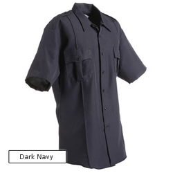 Horace  - Small Sentry Plus Mens Short Sleeve Zipper Front Shirt