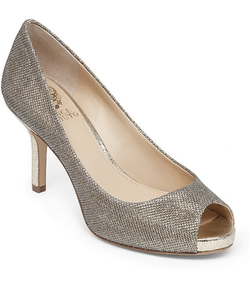 Vince Camuto - Kiley Peep-Toe Pumps