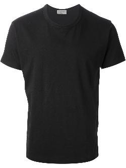 YOHJI YAMAMOTO  - plain stitch t-shirt