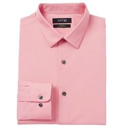 Apt. 9 - Stretch Spread-Collar Dress Shirt
