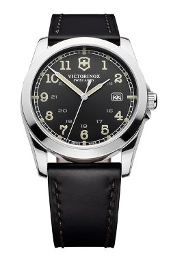 Victorinox Swiss Army - Infantry Leather Strap Watch