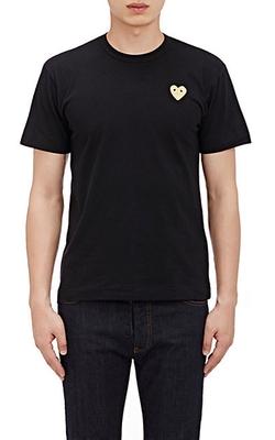 Comme Des Garcons Play - Appliquéd T-Shirt