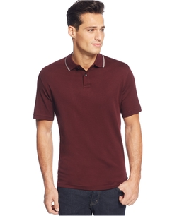 Tasso Elba - Tipped Polo Shirt
