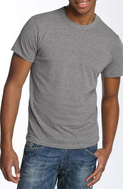 Alternative - Heathered Trim Fit Crewneck T-Shirt