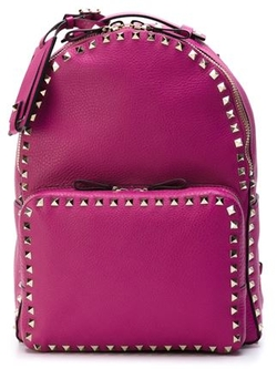 Michael Kors  - Rhea Small Studded Leather Backpack