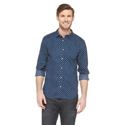 Jeffrey Max - Polka Dot Button Down Shirt