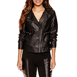 Worthington - Faux-Leather Jacket