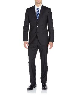 Hugo Boss - James/Sharp Trim-Fit Suit, Black