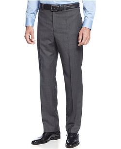 Lauren Ralph Lauren  - Sharkskin Plaid Dress Pants