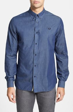 Fred Perry  - Chambray Sport Shirt