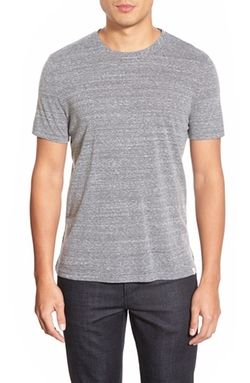AG  - Cliff Heathered Crew Neck T-Shirt
