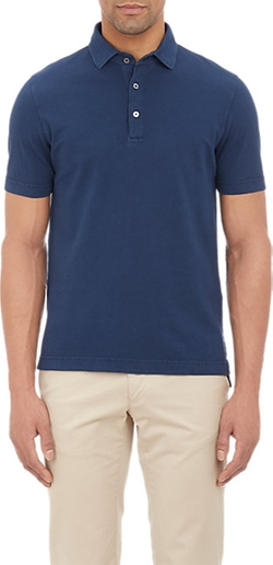 Barneys New York - Piqué Polo Shirt
