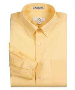 Cooper & Stewart  - Long Sleeve Pinpoint Dress Shirt