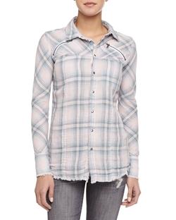 Hudson - Ryan Exhale Plaid Button-Down Shirt