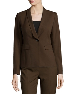 Lafayette 148 New York   - Ashley Shawl-Collar Jacket