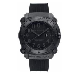 Hamilton - Automatic Rubber Strap Watch