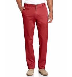 Louis Raphael - Slim Fit Flat Front Garment Dye Pants