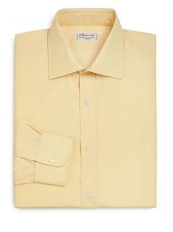 Charvet  - Regular-Fit Solid Dress Shirt