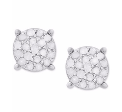 Victoria Townsend - Diamond Cluster Stud Earrings