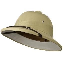 LTC  - Genuine Tree Bark Pith Helmet