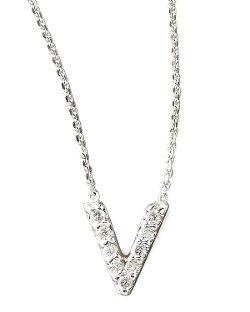 KC Designs   - Diamond Letter Necklaces