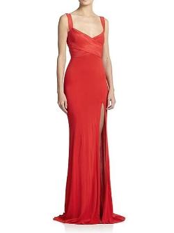 Donna Karan  - Cross-Front Gown