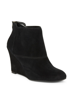 Nine West - Optimistic Suede Wedge Boots