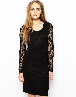 Vila  - Sammo Lace Dress
